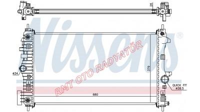 Saap 9-5 2.00 Td Otomatik Motor Su Radyatörü 13241724