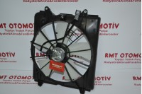 HONDA CRV 2,4 I-VTEC MOTOR RADYATÖR FANI 2007 MODEL VE SONRASI - 19015-RZA-A01