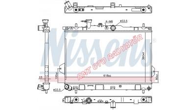 Hyundai Matrix Benzinli Manuel Motor Su Radyatörü 2001 2006 Model Arası 25310-17000