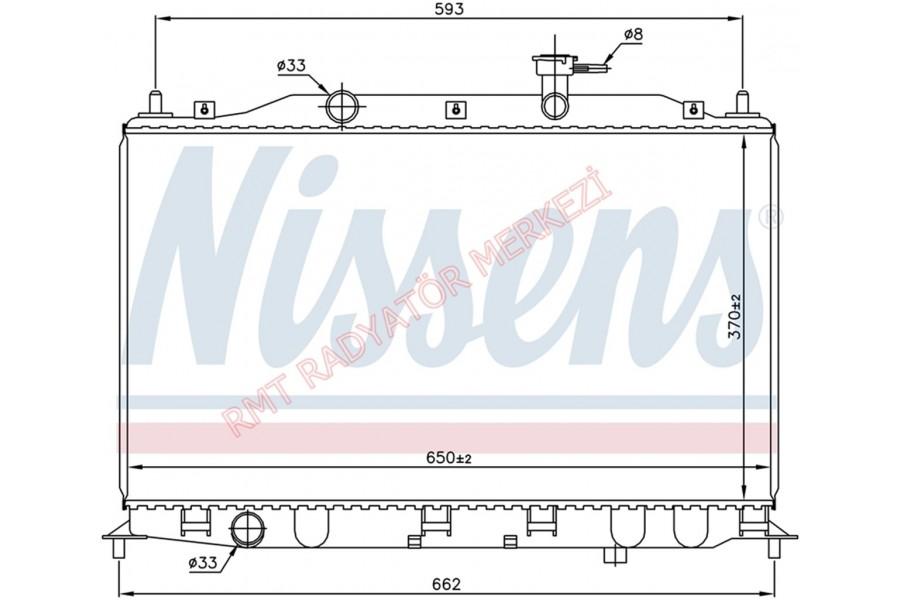 Hyundai Accent Era Benzinli  Motor Su Radyatörü 25310-1E000