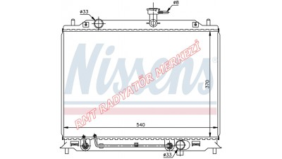 Hyundai Accent Era Dizel Motor Su Radyatörü 25310-1E300