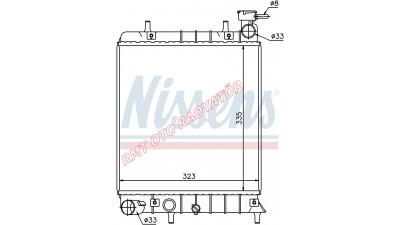 Hyundai Accent Milenyum Kasa Motor Su Radyatörü 25310-25050