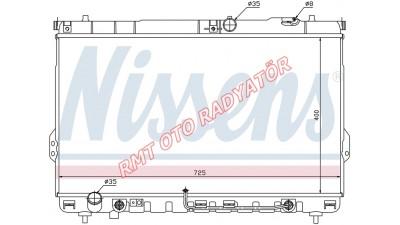 Hyundai Santa Fe Dizel Motor Su Radyatörü Otomatik 2001 2006 Model Arası 25310-26480 / 26450