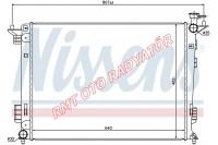 Hyundai Tucson 1600 2000 Benzinli Manuel Motor Su Radyatörü 2010 2015 Model 25310-2S500