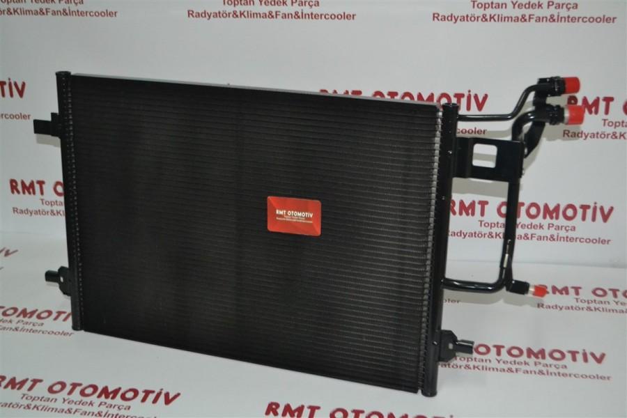 AUDI A6 1.8 - 2.0 - 1.9TDI MOTOR KLİMA RADYATÖRÜ 1997 MODEL VE SONRASI 4B0260403F/H/T
