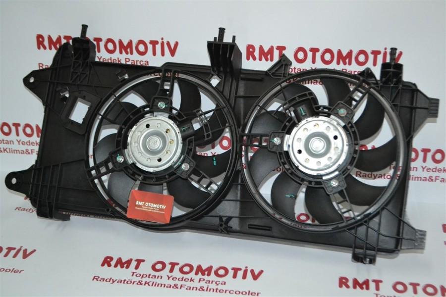 FIAT DOBLO 1.3 JTD MOTOR ELEKTROFAN KLIMALI 2005-2010 51755591