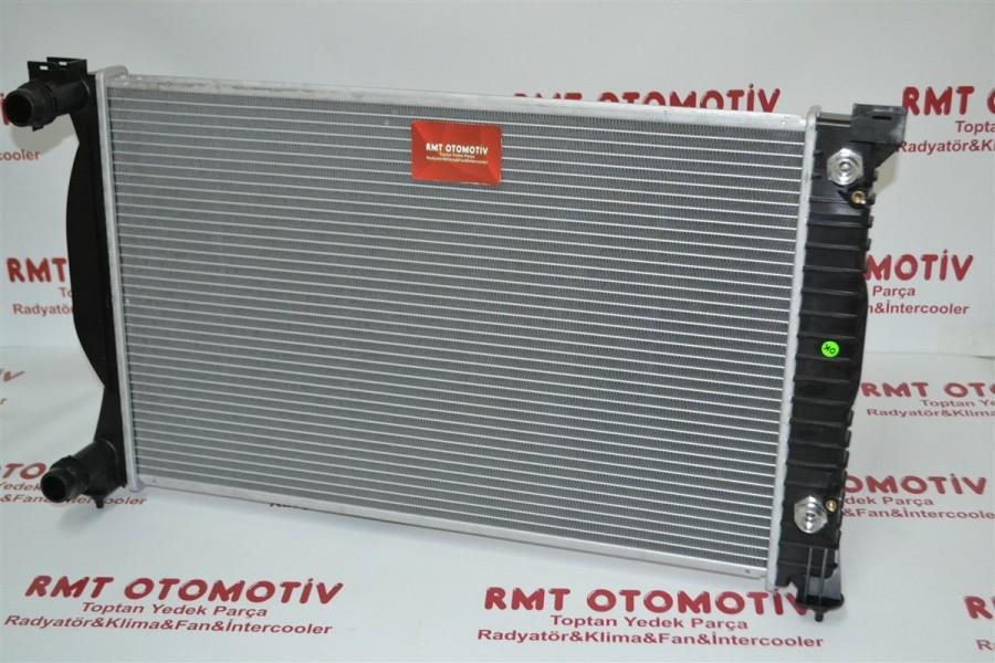 AUDI A4 1.8, 2.0, 1.9TDI MOTOR SU RADYATÖRÜ OTOMATİK 2001+ AC+ 8E0121251B/L