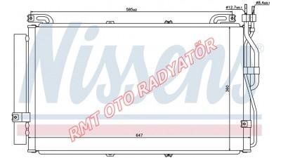 Hyundai Matrix Dizel Klima Radyatörü 2001 2006 Model Arası 97606-17800