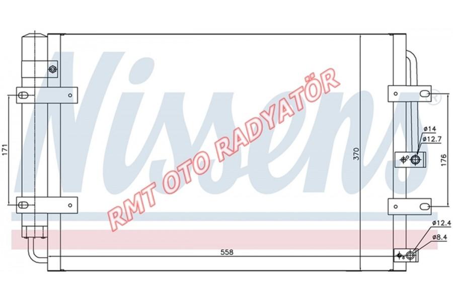 Hyundai H100 Kamyonet 2004 Model Sonrası Klima Radyatörü 97606-4F100